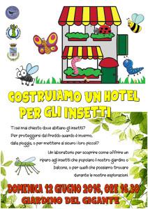 Costruiamo un hotel per gli insetti